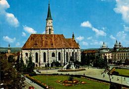 CLUJ-NAPOCA   ( ROUMANIA )  LA CATHEDRALE  ST MIHAIL - Romania