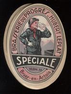Mine Mineur Lot De 18 étiquettes Brasserie Du Progrès Hubert Leplat Bruay-en-Artois Port France 1,06 Ou 2,12€ - Beer