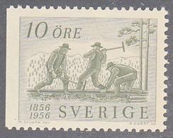 SWEDEN  SCOTT NO  497   MNH   YEAR  1956 - Nuevos