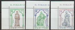 Vatikan 1995 Mi-Nr.1158 - 1160 ** Postfrisch 800Geb. Des Hl. Antonius Von Padua ( 2503)günstige Versandkosten - Nuevos