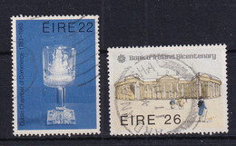 Ireland: 1983   Bicentenaries Of Dublin Chamber Of Commerce And Bank Of Ireland  Used - Usados