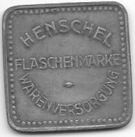 *notgeld  Henschel  Flaschen Marke - Other