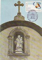 Portugal & Maximum Card, 750 Years Of Santo António De Lisboa, Estoril Church, 1982 (1523) - Other