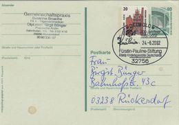 Fürstin Pauline - Stiftung - Älteste Kindertagesstätte - 32756 Detmold 2002 - Ganzsache - Famous Ladies