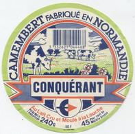 Etiquette Camembert, Lessay - Cheese