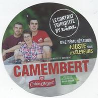 Etiquette Camembert, Maison Feyne, Lidl - Cheese