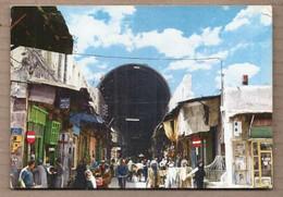 CPSM SYRIE - DAMASCOUS - DAMAS - La Rue Droite - TB PLAN ANIMATION - Syria