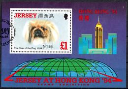Jersey 1994 Bl. 8 Gestempelt Used #657# - Jersey