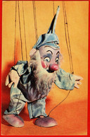 16163 Dwarf Doll Puppet Puppet Theater Snow White And The Seven Dwarfs In 1968 USSR Soviet Card - Giochi, Giocattoli