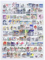 Schweden, Sweden #3: 1985-2011, 150 Diff. Used (incl. Perforation Varieties) - Collections