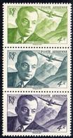 3 TIMBRES ISSU DU BLOC ANTOINE DE SAINT EXUPERY 1900 / 1944- TTB ** - Neufs