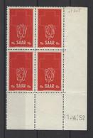 SARRE. YT   N° 305  Neuf **   1952 - Nuevos