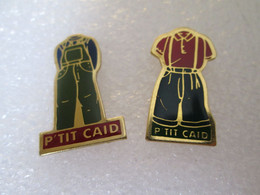 PIN'S   LOT 2  P'TIT  CAÏD - Altri