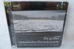 """CD """"Die Großen Romantischen Klavierkonzerte"""" Tschaikowsky Nr. 1 In B- Dur Op.23 Und Saint Saens Nr. 2 In G -moll Op.22 - Classica"""