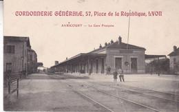 54-AVRICOURT LA GARE FRANCAISE PETIT ACCROC EN BAS - Other Municipalities