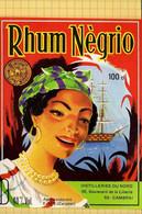 LOT  ::::Etiquettes De Rhum : NEGRIO  Cambrai  (20 Etiquettes Identiques ) - Rhum