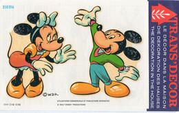 Décalcomanie Trans'décor N° 350206 Walt Disney Production  Minie - Mickey Dimension Images  18cmX13cm - Altri