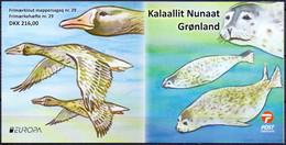 GROENLAND 2021 Postzegelboekje Europazegels PF-MNH - Nuevos