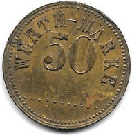 *notgeld WERTH MARKE 50 ........ - Noodgeld