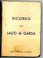 Leporello Italien: Ricordo Del Lago Di Garda, 11 Bilder, Alle Ca. 7,5 X 10,5 Cm, Um 1955-60 - Unclassified
