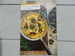 Carte Postale De Recette - Risotto Aux Moules Façon Paella - Recipes (cooking)