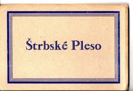 Leporello Slowakei:  VysokeTatry, 12 Bilder, Alle Ca. 9 X 14 Cm, Unbeschrieben Um Ca. 1920-30 - Slovacchia