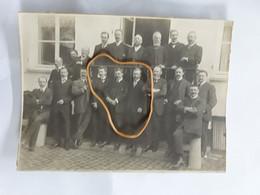 ORIGINELE FOTO 17 CM OP 12  CM CYCLE CLUB YPROIS 1912 - Ieper