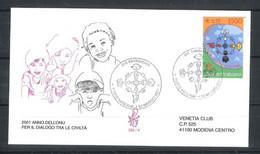 2001 - FDC (VENETIA N. ° 332) (1854) - FDC