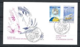 2001 - FDC (VENETIA N. ° 334) (1857) - FDC