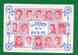Cyclisme - Les Geants De La Route -Photo PICOCHE  . Gaul, Bobet, Anquetil, Rivière, De Bruyne, Baldini, Darrigade. - Cycling