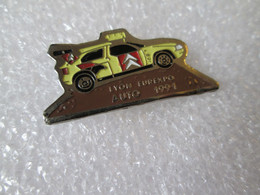 PIN'S    CITROEN  ZX  RALLYE RAID   EUREXPO LYON - Citroën