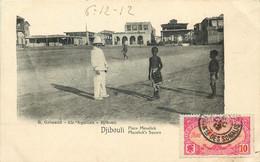 AFRIQUE  DJIBOUTI  Place Menelick - Gibuti