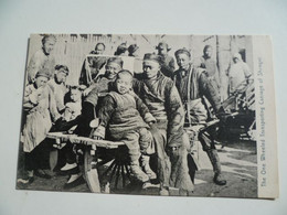 CPA / Carte Postale Ancienne / CHINE / The One Wheeled Transporting Carriage Of SHANGHAI - China