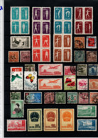 CHINA SMALL COLLECTION STAMPS USED, MH  ON STOCK CARD (21) - Sin Clasificación