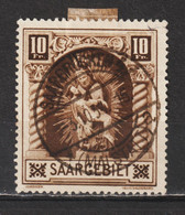 Saar MiNr. 103 II  (sab19) - Usados