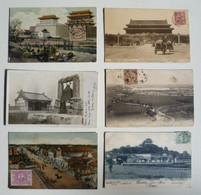 CPA / Lot De 6 Cartes Postales Anciennes / CHINE / Beijing - Pekin /b - China