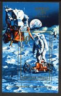 HUNGARY 1973 Apollo 17 Block Used.  Michel Block 94 - Blocks & Kleinbögen