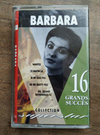 Barbara: 16 Grands Succès/ Cassette Audio-K7 - Audio Tapes
