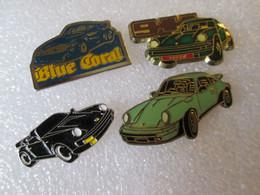 PIN'S    LOT  4  PORSCHE - Porsche