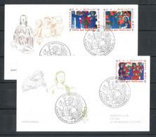 2001 - FDC (VENETIA N. ° 341) (1862) - FDC