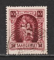 Saar MiNr. 102 V  Geprüft Hoffmann BPP (sab19) - Usados