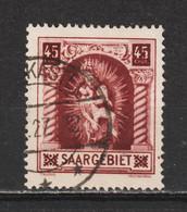 Saar MiNr. 102 IV   (sab19) - Usados