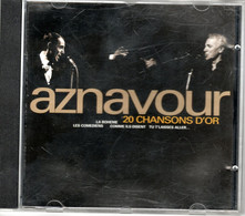 CD Charles AZNAVOUR 20 Chansons D'or - Other - French Music