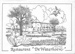 Uitnodiging Jubileumfeest De Vreese Vriendt - Restaurant De Waterhoeve - Merendree - Deinze