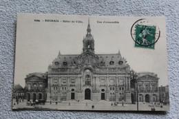 Cpa 1913, Roubaix, Hôtel De Ville, Vue D'ensemble, Nord 59 - Roubaix