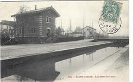 52   Saint  Dizier  -  Les Bords Du Canal - - Saint Dizier