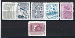 ⭐ Corée Du Nord - YT N° 322 à 327 **  - Neuf Sans Charnière - Thématique Animaux - 1962 ⭐ - Korea (Noord)