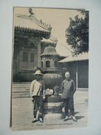 CPA / Carte Postale Ancienne / CHINE / Beijing - PEKIN  - Urne Sacrée Dans Une Pagode - China