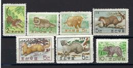 ⭐ Corée Du Nord - YT N° 357 à 363 **  - Neuf Sans Charnière - Thématique Animaux - 1962 ⭐ - Korea (Noord)