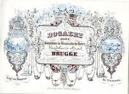 DE 725 - Carte Porcelaine Du Bogaert, Beurre De Dixmiudsche (koopman Boter), Brugge, Imp. Daveluy - Otros